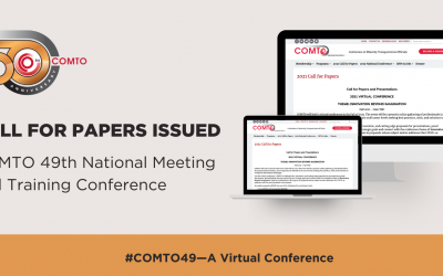 2021 COMTO Call for Papers Social Graphic